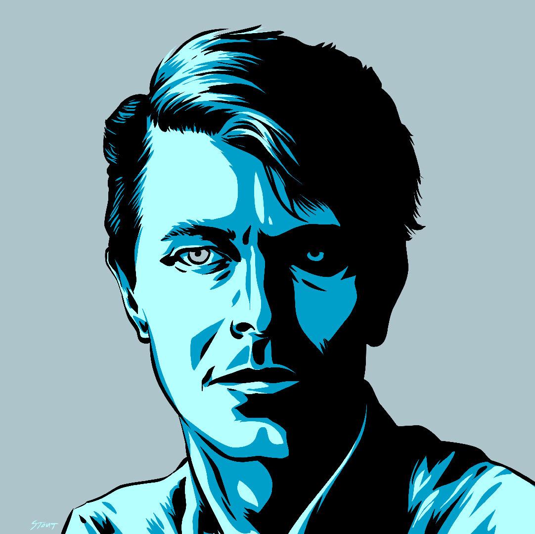 David Bowie by Jason Stout