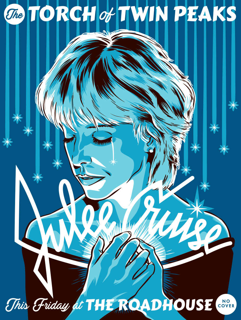 Julee Cruise of Twin Peaks by Jason Stout