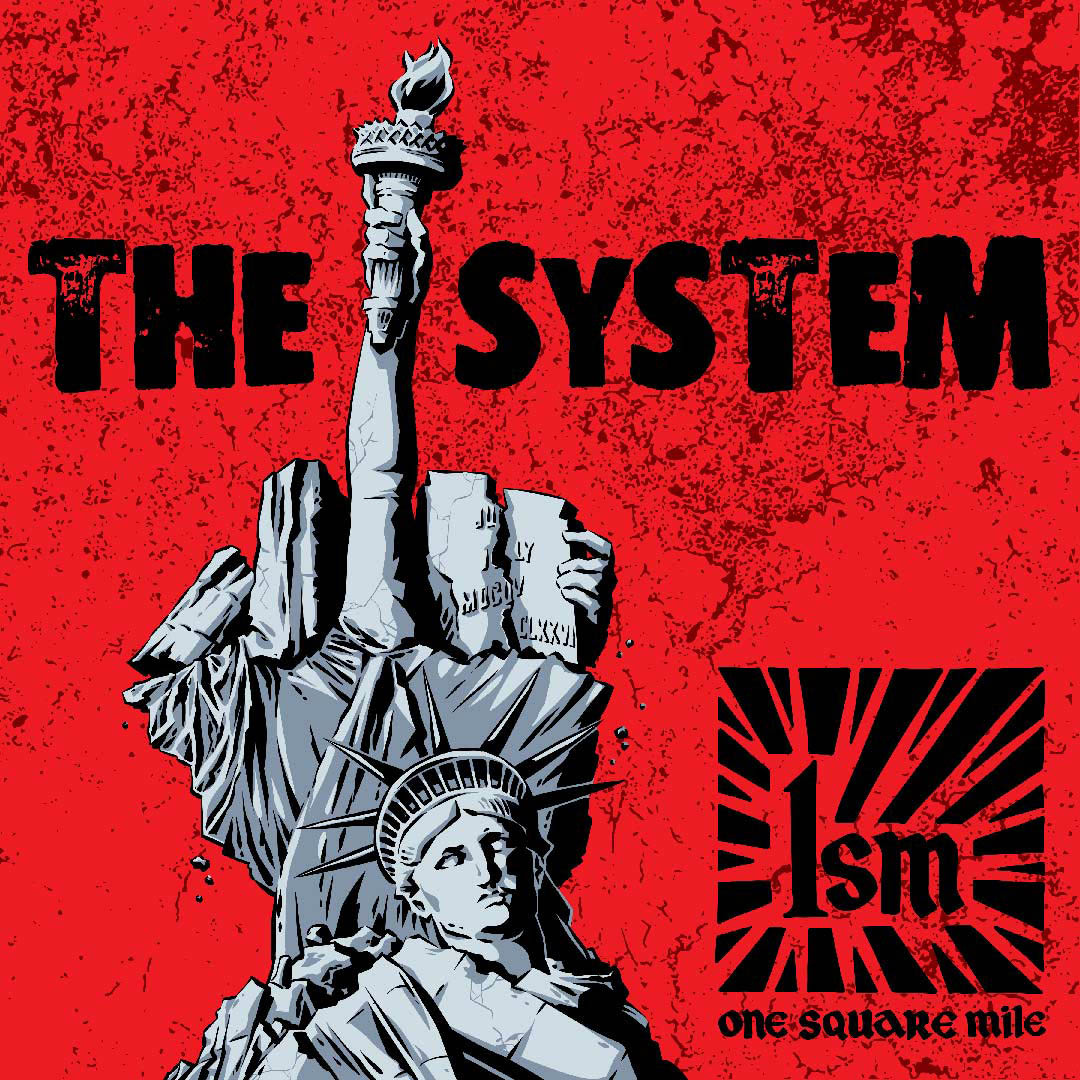 One Square Mile The System album cover by Jason Stout