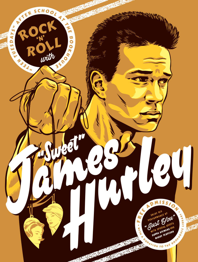 Sweet James Hurley of Twin Peaks by Jason Stout