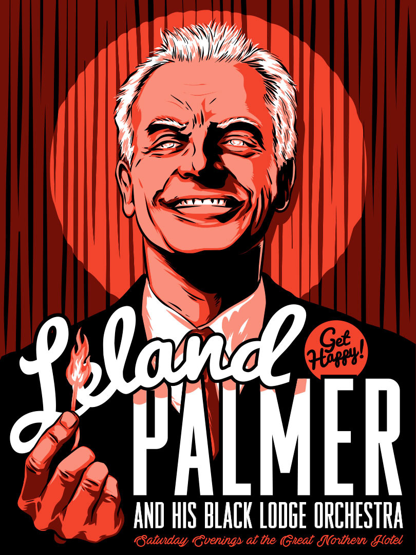 Leland Palmer of Twin Peaks by Jason Stout