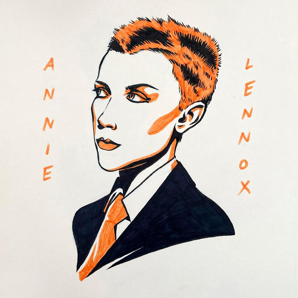 Annie Lennox by Jason Stout