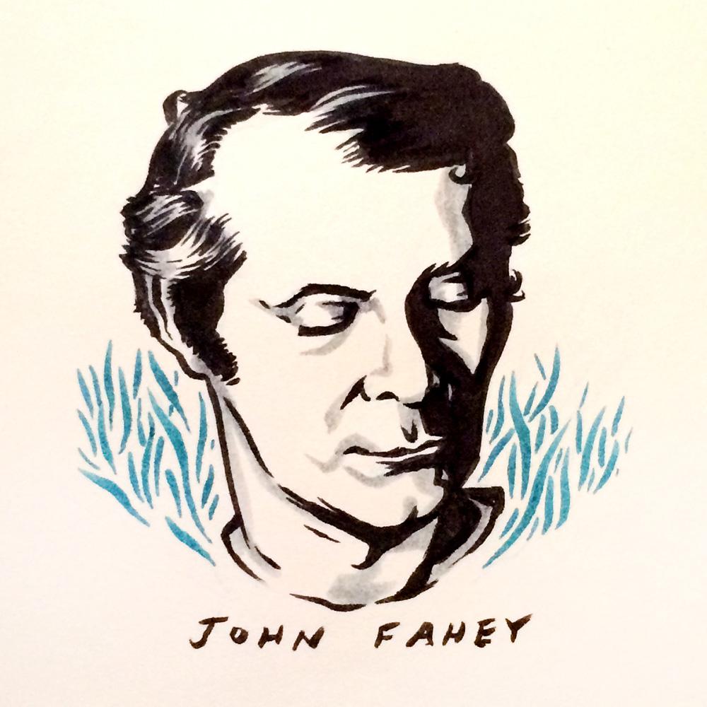 John Fahey by Jason Stout