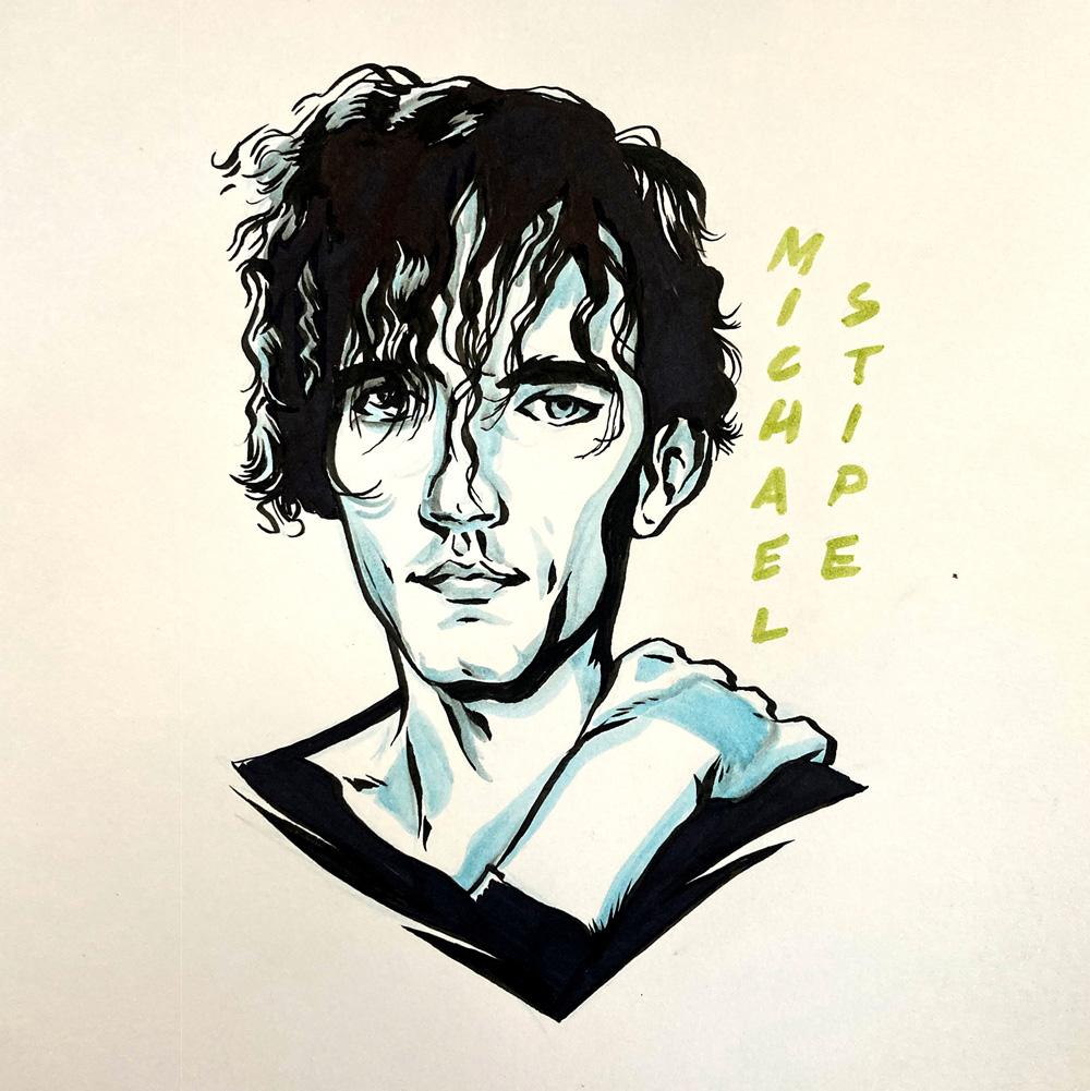 Michael Stipe by Jason Stout