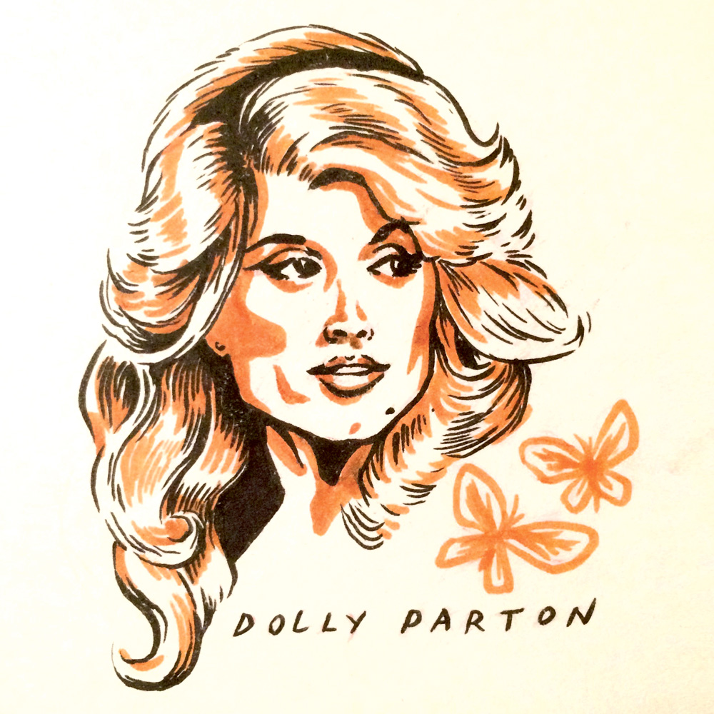 Dolly Parton by Jason Stout
