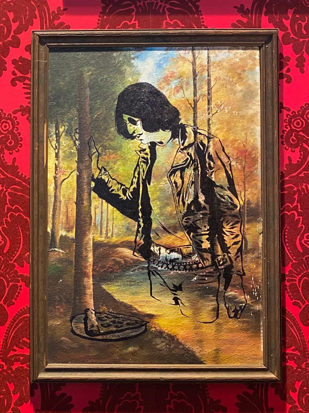 Joey Ramone at Homeslice by Jason Stout