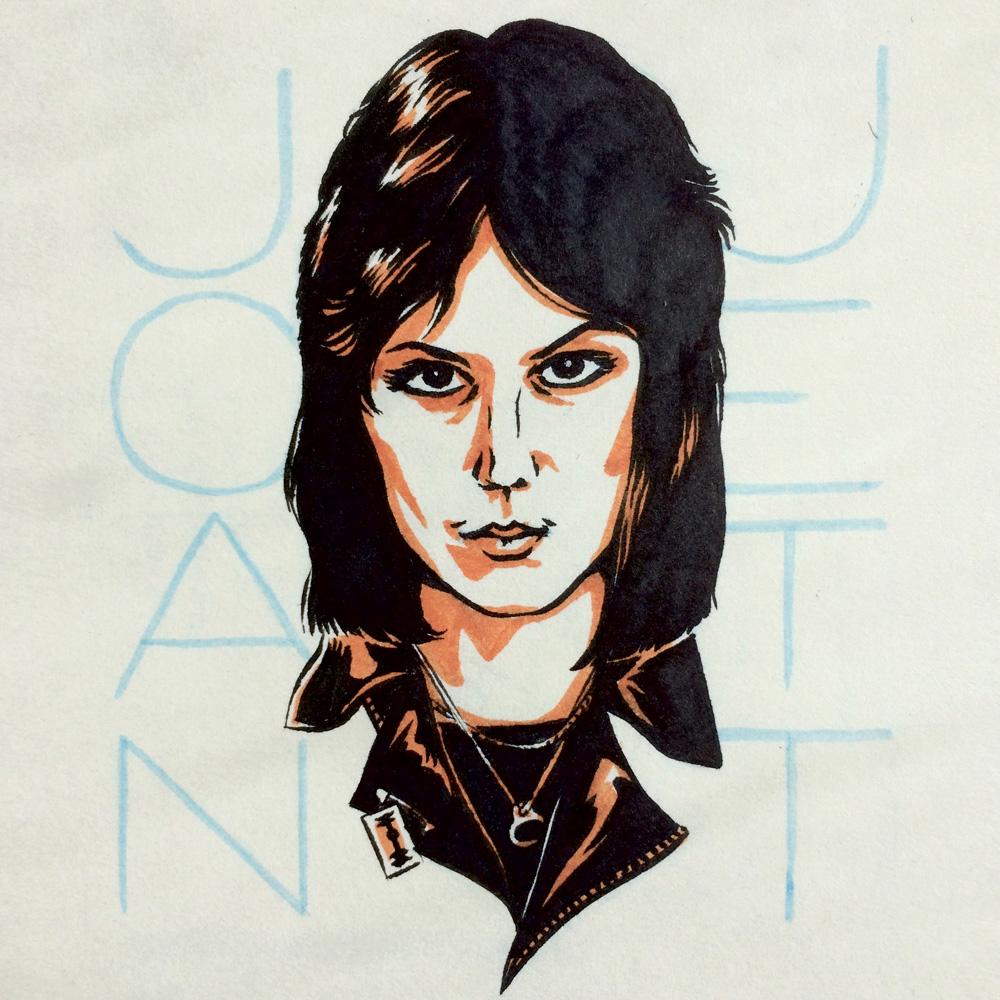 Joan Jett by Jason Stout