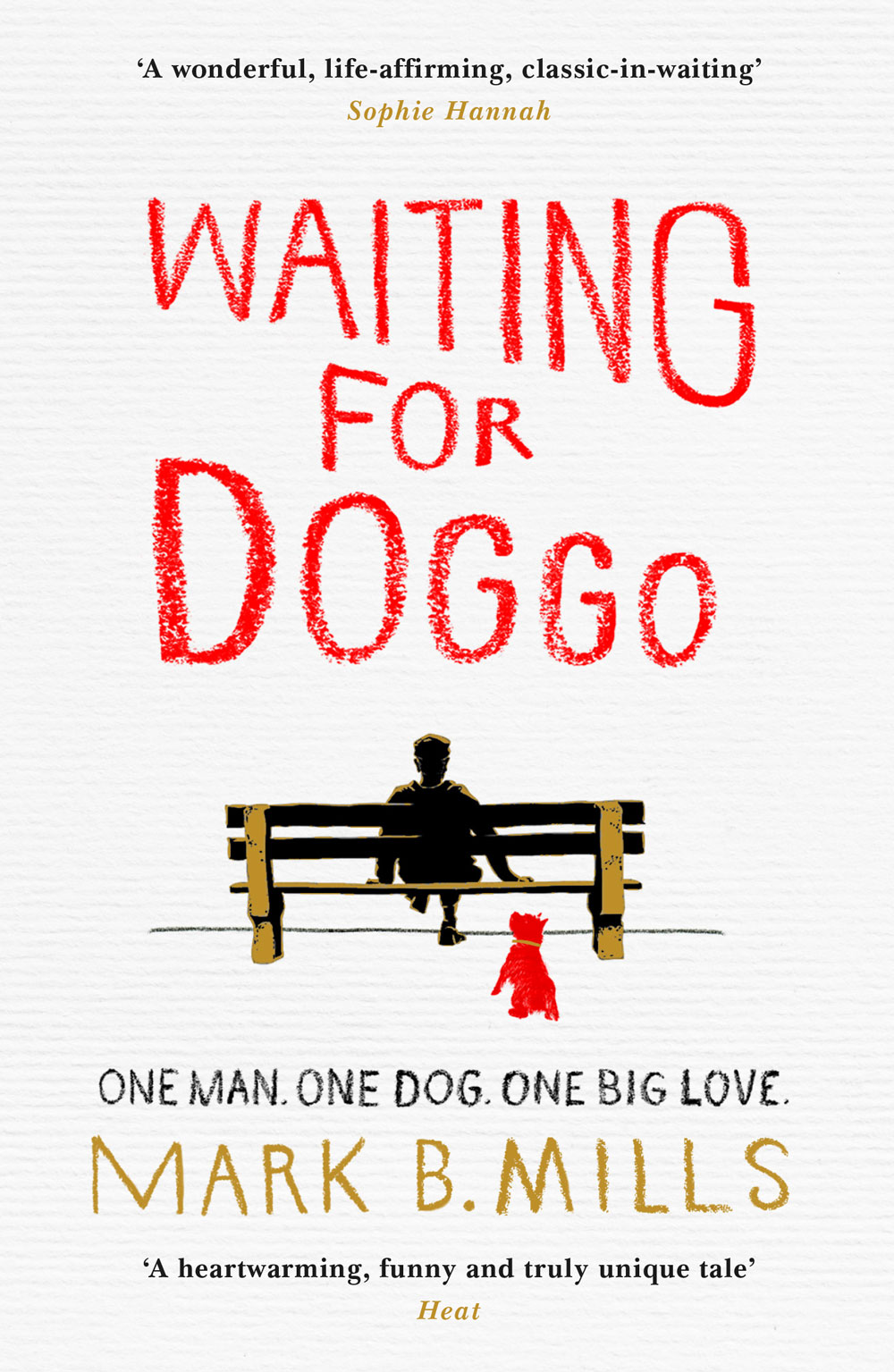 Waiting for Doggo book cover illustration by Jason Stout