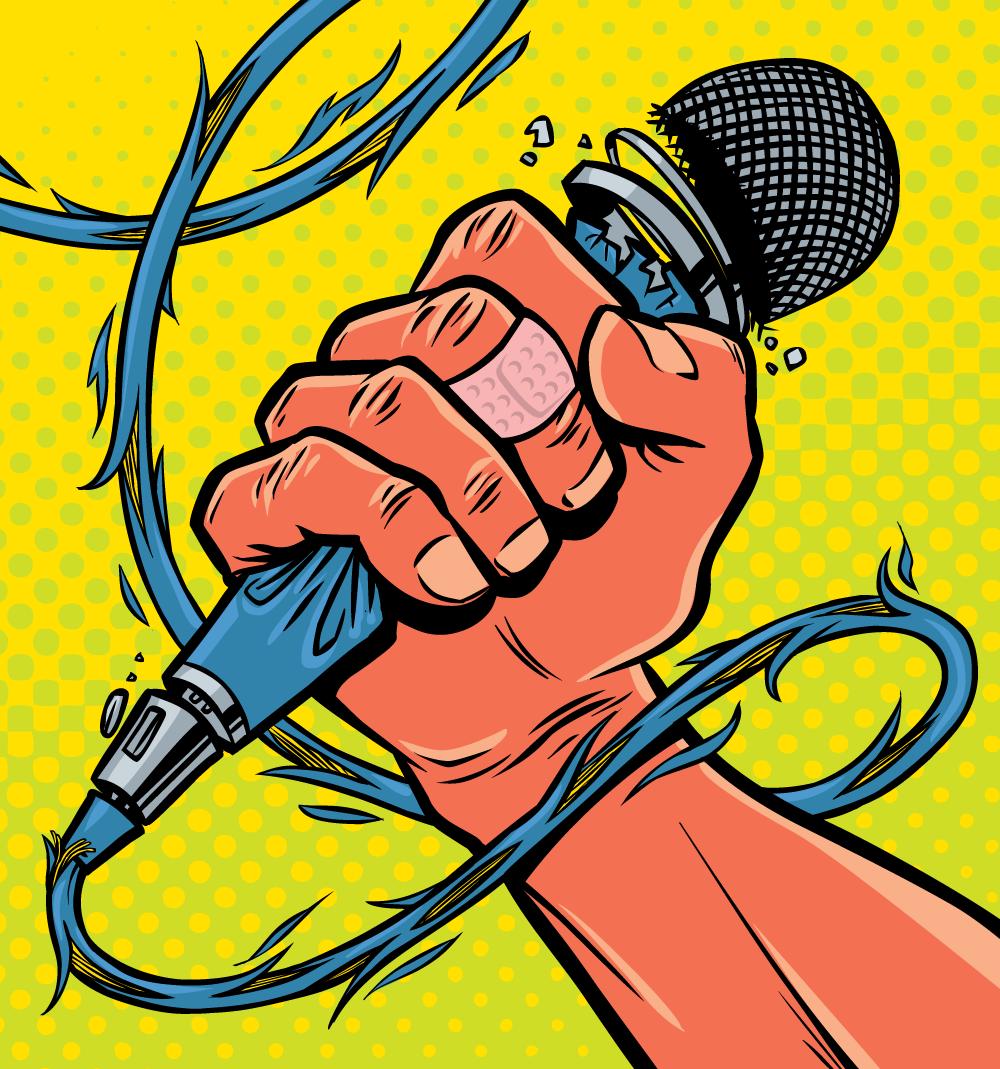 Editorial illustration by Jason Stout