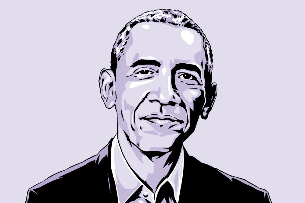 Barack Obama by Jason Stout