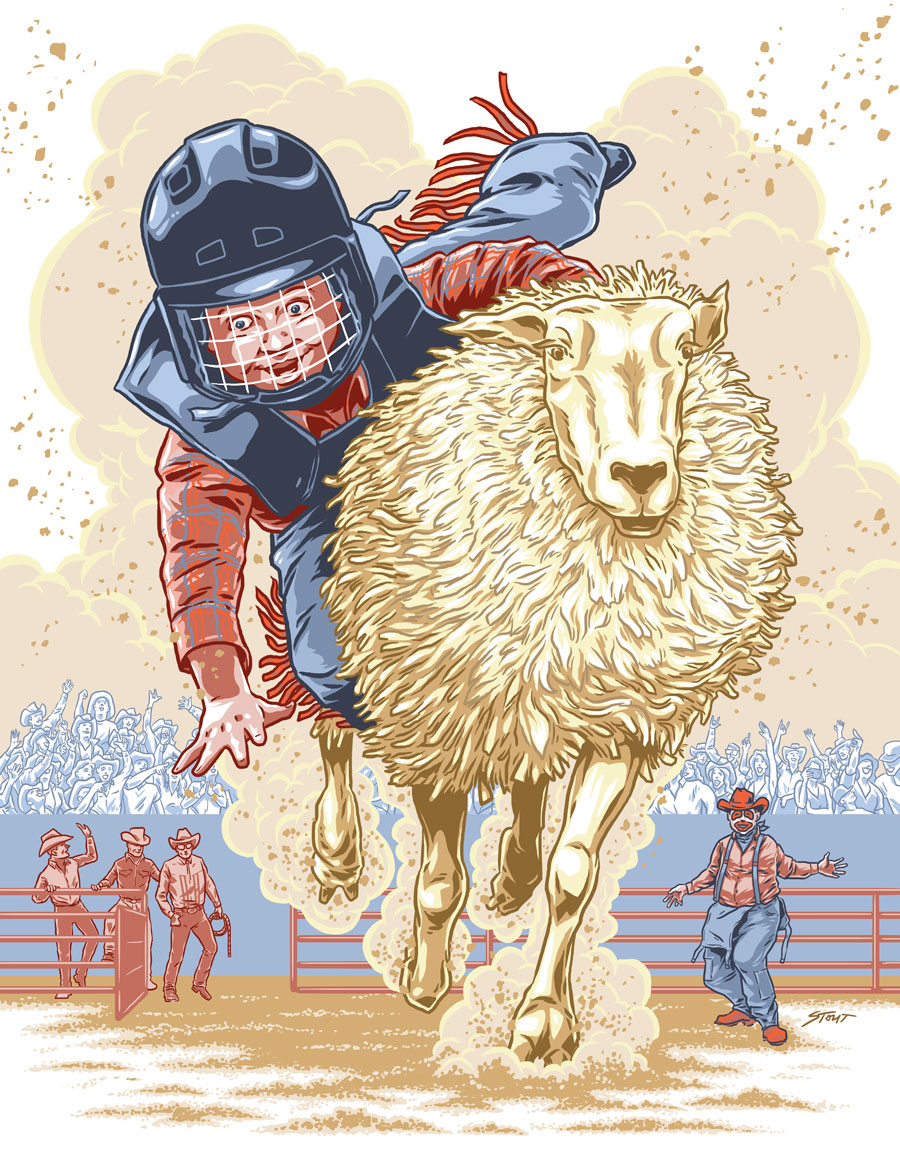 Mutton Busting for Texas Highways by Jason Stout